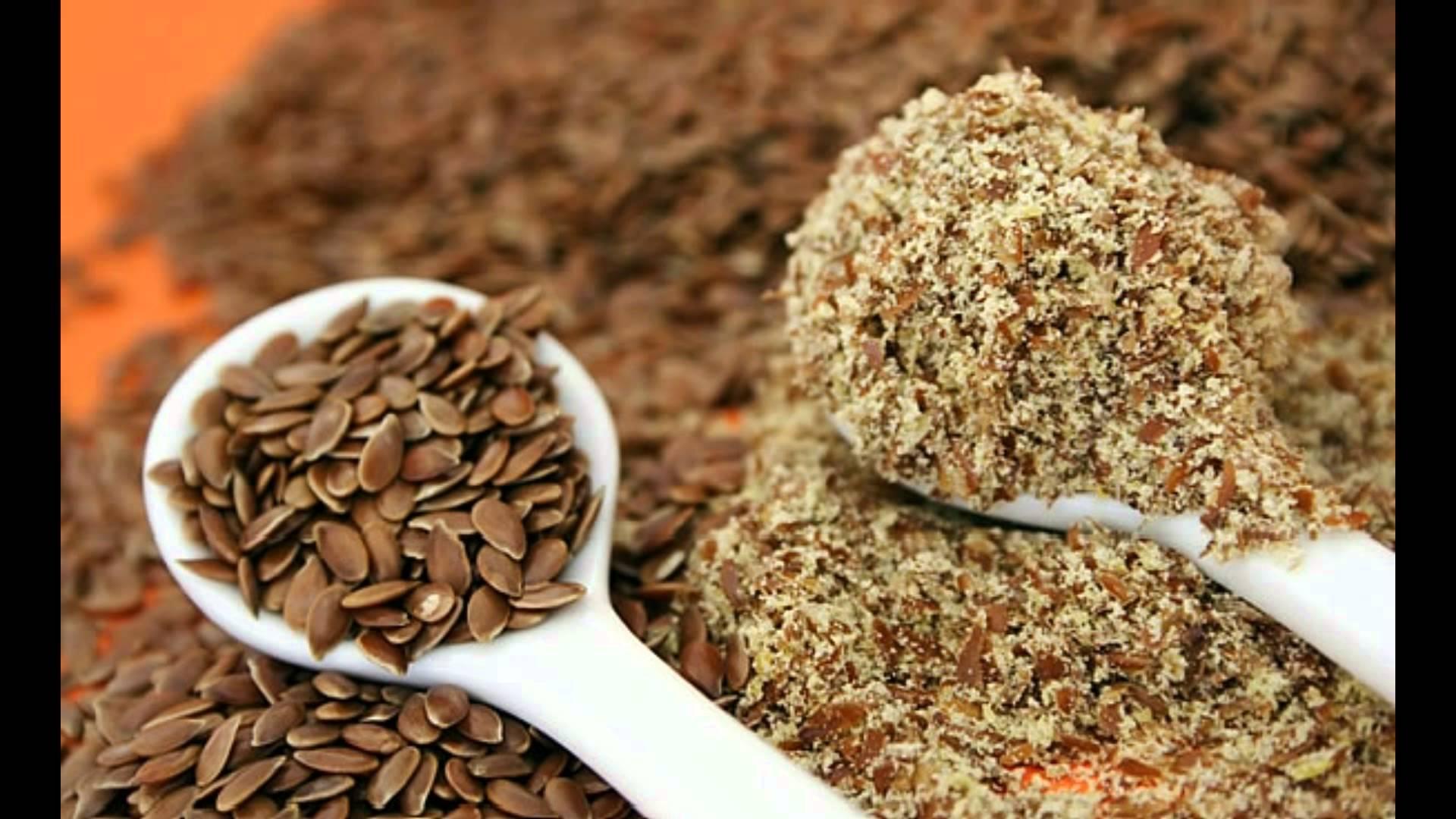 Льняное семя полезные свойства!