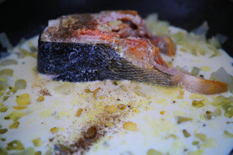 Рецепты из рыбы кета с фото пошагово