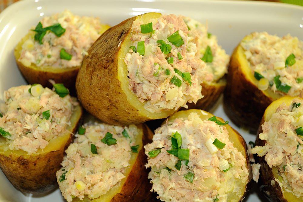 картошка фаршированная сыром в духовке рецепт с фото